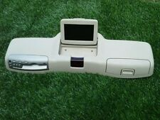 03-05 LINCOLN AVIATOR OVERHEAD FLIP DOWN DVD PLAYER &SCREEN TAN OEM SEE PHOTO