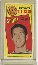 1970-71 TOPPS # 112 JOHN HAVLICEK ALL STAR NICE CARD