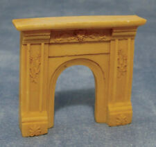 1/24th Scale Cream Fireplace, Dolls House Miniature, 1.24th Scale.