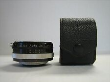 VIVITAR AUTO 2X CUSTOM TELE-CONVERTER MODEL 2X-3 JAPAN LENS + CASE