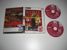 ROME TOTAL WAR BARBARIAN INVASION Add-On Expansion Pc DVD Rom WL b FAST POST