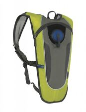 Outdoor Products Kilometer 8.0 2L Hydration Pack Yellow Grey Hiking Cycling 6B13