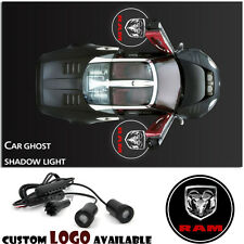 For Dodge RAM Ghost Shadow Led Car Door Logo Laser Welcome Projector Step Light