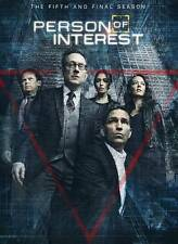 PERSON OF INTEREST THE COMPLETE FIFTH & FINAL SEASON FIVE  3 DVD LIKE NEW