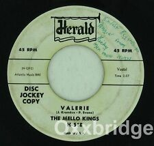 MELLO-KINGS PROMO She's Real Cool HERALD 1958 DICK LEVISTER SIGNED Early Rock