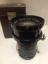 Schneider Gottingen Xenon 12.5cm 1932 Night Exakta Lens Sn#59188 German Military