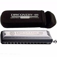 HOHNER DISCOVERY 48 7542BX-C CHROMATIC HARMONICA IN THE KEY OF C w/BONUS