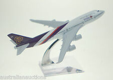 1:400  THAI Air  Thailand Model Plane Scale Apx 16cm Long Airplane  #922