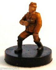 AXIS & ALLIES MINIATURES - (YU) YUGOSLAV PARTISAN COMMANDER