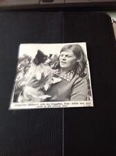 68-3 ephemera 1967 Picture News Item J Burberry Papillon Pepe Dog Show