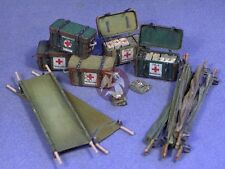 Resicast 1/35 UK Medical Supplies (Stretchers, Panniers, etc with Decals) 352338