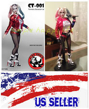 1/6 Suicide Squad Harley Quinn sexy clothing set Kumik Phicen Hot Toys Jodoll