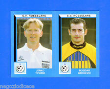FOOTBALL 2000 BELGIO Panini-Figurina -Sticker n. 472 - S.V ROESELARE -New