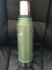 Vintage Stanley Aladdin Steel 1 Quart Green Thermos