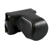 New Leather Case Bag Cover Protector for Fujifilm X-E1 Camera 14 18 35 60mm Lens
