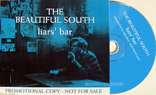 The BEAUTIFUL SOUTH CD Liars ' Bar UK 1 TRACK PROMO w/ PROMO Stickers