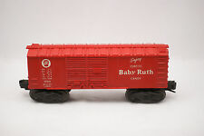 Lionel Model Train O Scale Red Baby Ruth Candy Car X6014