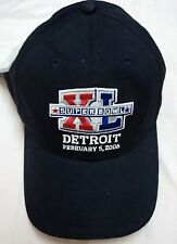 SUPER BOWL XL DETROIT 2006 REEBOK NAVY NFL CAP