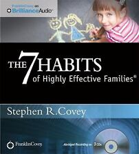 Stephen Covey 7 HABITS OF HIGHLY EFFECTIVE FAMILIES CD *New* FAST 1st Class Ship