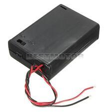 Contenitore x 3 Stilo AA Porta Pile Batterie Batteria Portabatterie Interruttore