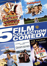 BLAZING SADDLES / CADDYSHACK / ACE VENTURA / GRUMPY OLD MEN & NL VACATION DVD