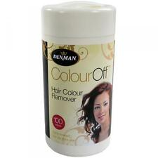 Denman Colour Off hair removal wipes (OFFICIAL STOCKIST)