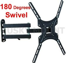 Full Motion TV Wall Mount Tilt Swivel 32 39 40 42 46 47 inch LED LCD Flat Screen