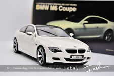 KYOSHO 1:18 BMW M6 white