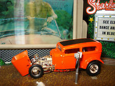 """HOT WHEELS 1960'S SHOW CAR """"ORANGE KRATE"""" LIMITED EDITION """"BOB TINDLE'S"""" 1/64"""