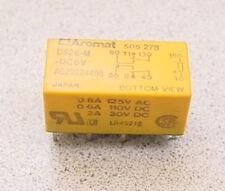 AROMAT DS2E-M-DC6V RY-5D-K, TAKAMASAWA DPDT 2A 6VDC POLAR DIP RELAY NEW Qty-3