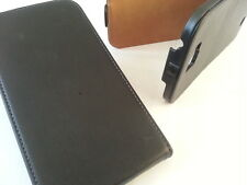 Samsung Galaxy Note 2 N7100 custodia cover a flip in pelle nera ii gt supporto