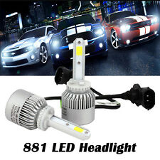 2x 72W 881 6500K LED Headlight Bulb Conversion Kit Fog Driving Lamp Chevrolet