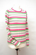 P254/18 Ben Sherman Teenage Girl'sCotton Pastel Striped Jumper, age 14-16 UK 10