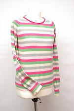 P254/18 Ben Sherman Teenage Girl'sCotton Pastel Striped Jumper, age 14-16 UK 10