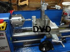 Metal Working STEP BY STEP DVD learn how to operate ~~metal lathe~~ 7 x 10, DIY