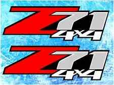 Z71 4x4 Silverado, Sierra Off Road Decals/Stickers 1 PAIR truck bed USA SHIPPING