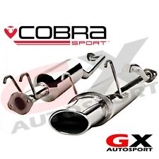 Hn15 COBRA SPORT HONDA CIVIC TYPE R EP3 00-06 CAT BACK SCARICO OVALE SCARICO