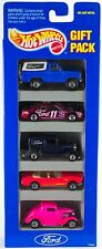 Hot Wheels Ford 5 Pack Gift Set - With Pink/Red '65 Mustang Convertible 1995 D8