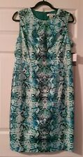 NEW Liz Claiborne Woman's 14 sleeveless knee length dress Capri Breeze