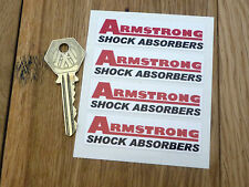 ARMSTRONG shock absorbers set 4 small stickers Elan etc