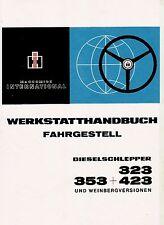 Werkstatthandbuch für IHC Schlepper 323 + 353 + 423