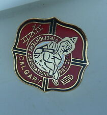 Calgary Firefighters Association Local 255 Lapel Hat Pin