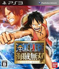 USED PS3 One Piece Kaizoku Musou BANDAI JAPAN IMPORT FREE SHIPPING F/S CERO B