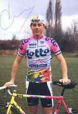 SAMMIE MOREELS Team LOTTO vélo bike MBK Signed Autographe cycling Signé cyclisme