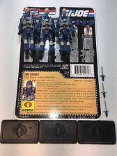 GI Joe Cobra 25th Anniversary Cobra Officer x3 Army Builder