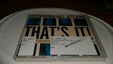That's It! CD Preservation Hall Jazz Band Darker It Gets Yellow Moon Sugar Plum