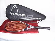 Head Ti Elite Mid Plus Tennis Racquet Titanium 4-1/2 - 4 Grip & Carry Bag vgc