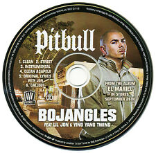 Pitbull BOJANGLES Feat. Lil Jon & Ying Yang Twins (Promo Maxi CD Single) (2006)