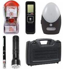 Basic Ghost Hunting Kit + Ghost Meter + Laser Grid Pen + Equipment Case + More