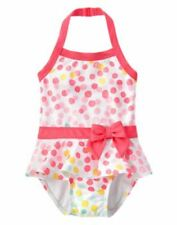 NWT Gymboree Swim Shop Confetti Dot one piece swimsuit bathing suit Sz: 5T